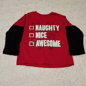 3 2T Halloween, Thanksgiving & Christmas shirts